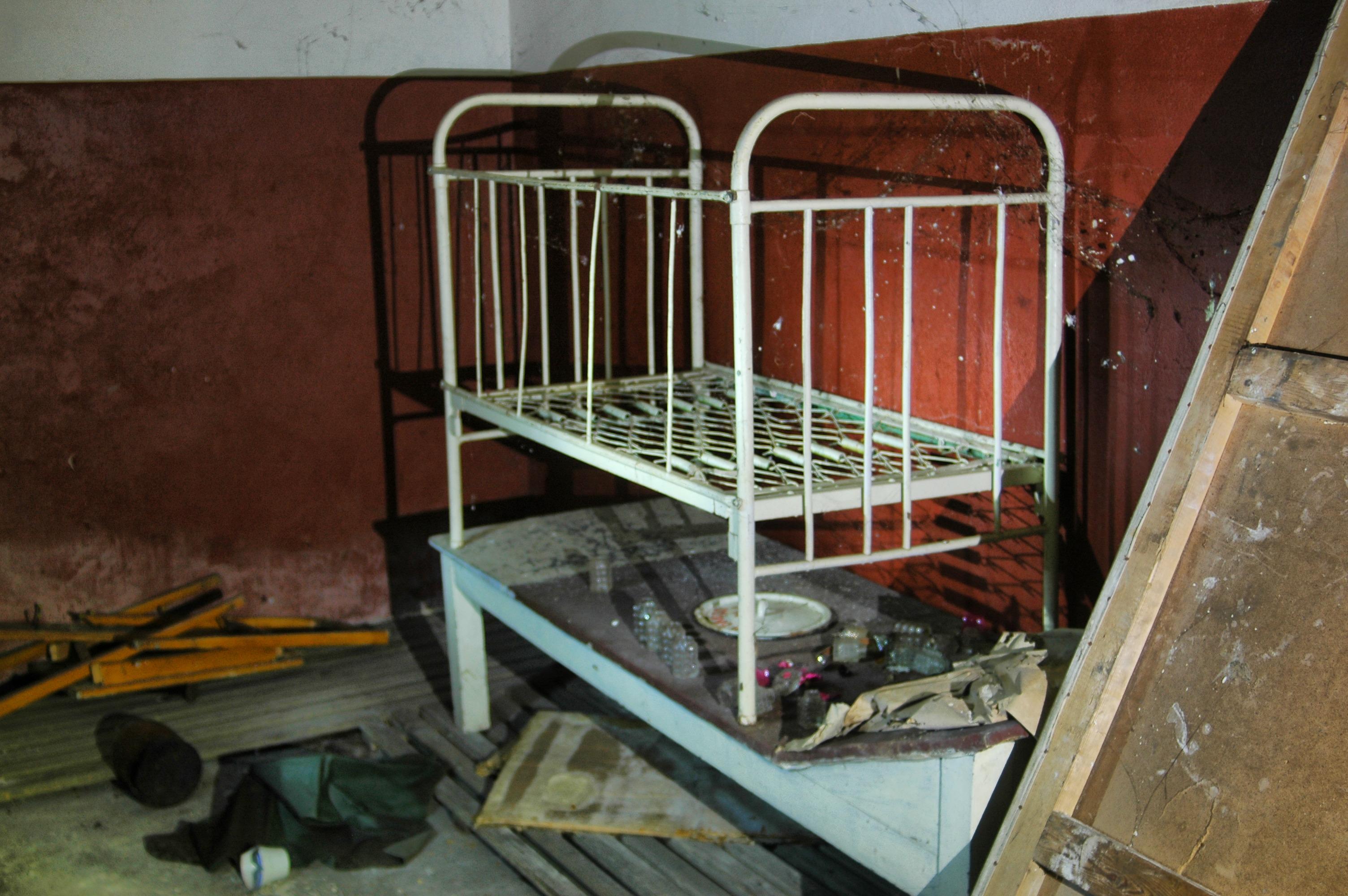 opuszczony szpital