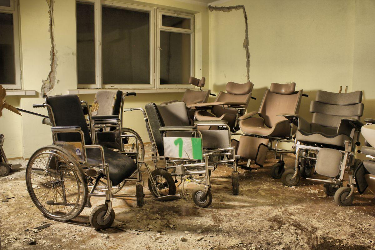 opuszczony dom opieki