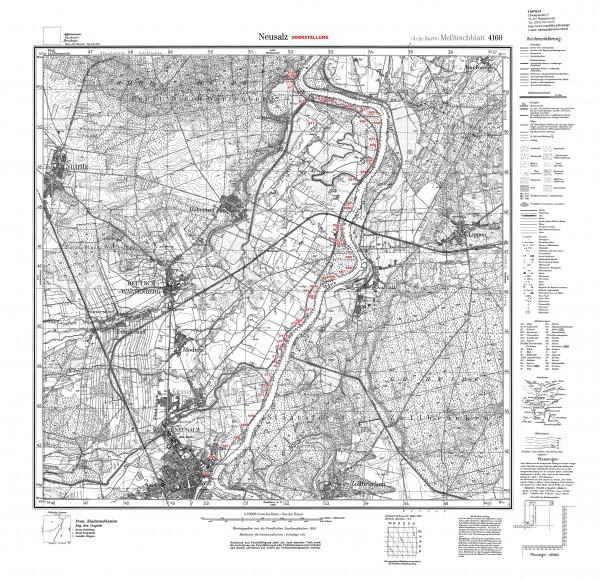 linia odry mapa